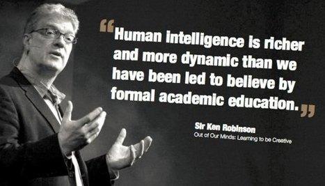 Schools Kill Creativity – TED Talk By Sir Ken Robinson - Kumar Gauraw | interactive learning | Scoop.it