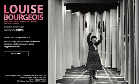 Jusqu'au 4 septembre 2016 :: exposition Louise Bourgeois, Musée Guggenheim de Bilbao | ALMAGESTE | Scoop.it