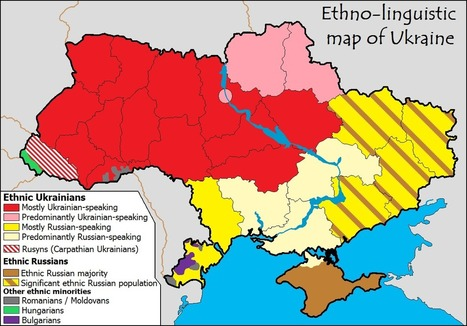 Ukraine: To Face Europe or Russia? | Geography Education | Scoop.it