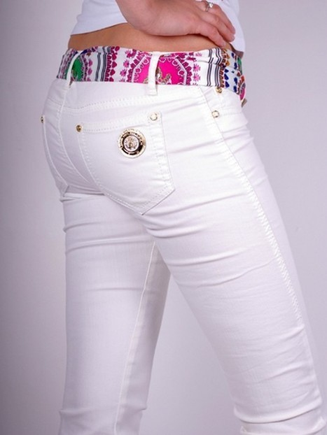 Latest White Jeans for women | FemalesPk.Com | Fashion and Beauty | Scoop.it