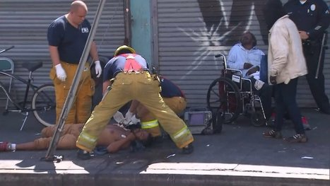 Synthetic Marijuana Creating 'Public Health Crisis' in Skid Row: LAFD Medical Director | Criminology and Economic Theory | Scoop.it