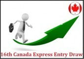 CIC Conduct's 16th Express Entry Draw And Issues 1517 Invitations | Immigration Visa Processing | Scoop.it