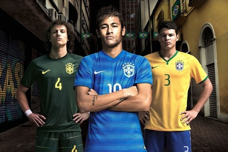 Power Ranking All 32 FIFA 2014 World Cup Away Kits - Bleacher Report | World Cup 2014 | Scoop.it
