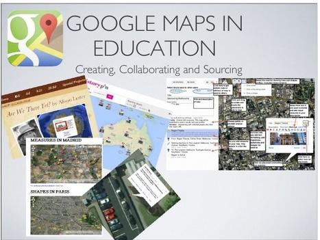 Google Maps in Education | Geografía secundaria | Scoop.it