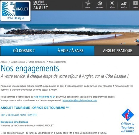 Mon cher office de tourisme | Info tourisme | Scoop.it