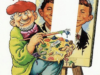 A MAD magazine cartoonist shows how growing up poor sparks creativity | Artdictive Habits : Sustainable Lifestyle | Scoop.it