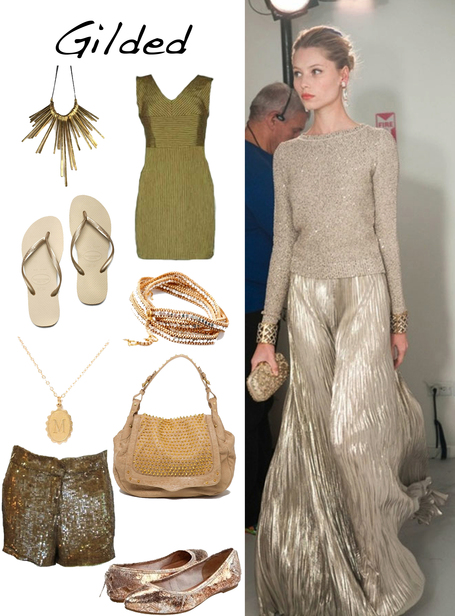 Gilded Glitz | Golden Pieces for Summer Sun | Spotlight | San Francisco Boutiques | Scoop.it