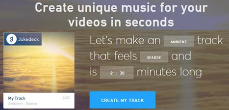 Générer des morceaux de musique libres de droits grâce à un algorithme & l'intelligence artificielle | Céline F | Scoop.it