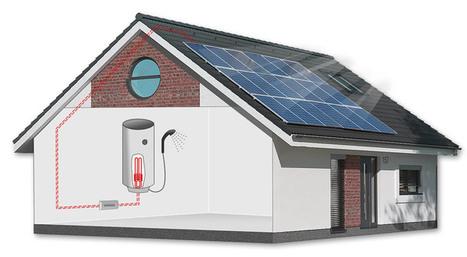 Jak funguje fotovoltaický ohřev vody | Geodetické práce | Scoop.it