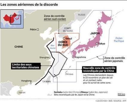 En mer de Chine, Tokyo et Séoul défient Pékin - Les Échos   Tensions en mer de Chine   Scoop.it