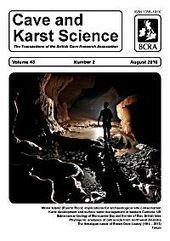 Cave & Karst Science   spéléo   Scoop.it