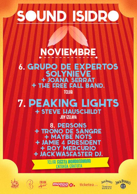 Sound Isidro 2014 – 6,7 y 8 de noviembre (Madrid)   La Gonzo Magazine   SOUND ISIDRO   Scoop.it