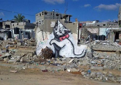 Gaza sous les bombes de Banksy | Stratégies de communication | Scoop.it