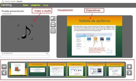Zeniting, sincronizando vídeo con una presentación PowerPoint - Educa con TIC | Las TIC y la Educación | Scoop.it