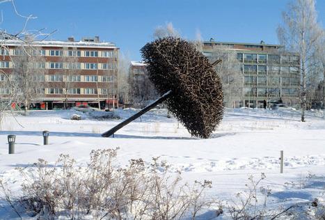 sculptor Jaakko Pernu, willow #sculpture, Environmental #Art | No. | Scoop.it