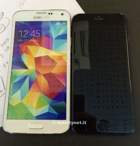 How Would A Bigger, 4.7-Inch iPhone 6 Compare Against Samsung's Galaxy S5? | From the Apple Orchard | Scoop.it