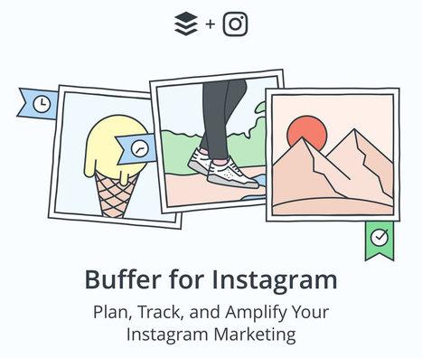Buffer planifie (aussi) les photos Instagram | Culture numérique | Scoop.it