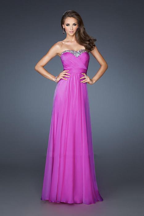 La Femme 18899 Magenta Full Length Sweetheart Prom Dresses 2014 [La Femme 18899 Magenta] - $169.00 : La Femme Outlet, 60% Off La Femme Sale Online | gownprincess | Scoop.it