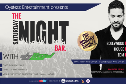 Oysterz Presents DJ Lloyd Live Saturday Night at The Flying Saucer Sky Bar in Pune, DJ Night in Pune - Oysterz.in | Nightlife Events in Pune,DJ Party in Mumbai, Nightclubs in Pune | Scoop.it