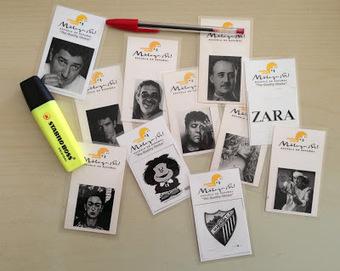 JRamónELE: Tarjetas (multiusos) de personajes | Recursos web Español Lengua Extranjera | Scoop.it