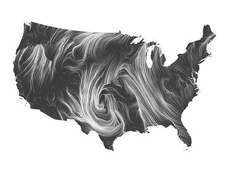 Wind Map | morphogenesis and emergence | Scoop.it