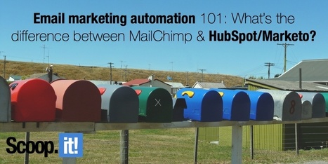 Email marketing automation 101: What's the difference between MailChimp and HubSpot/Marketo? | Cyrilr's  Digital Innovation & Marketing Selection | Scoop.it