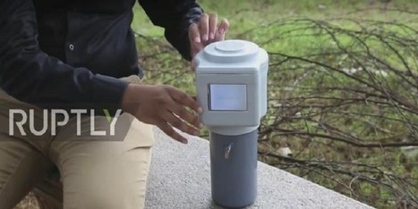 3D printed water-maker can create 2 liters of drinking water every hour out of the air | Sciences et technologies | Scoop.it