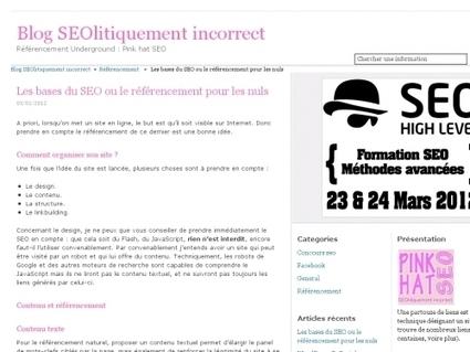 Les bases du SEO ou le référencement pour les nuls | Websourcing.fr | seo | Scoop.it