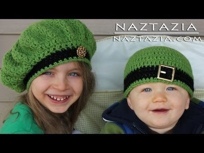 Learn How to Crochet - Easy Adjustable Magic Ring Loop Circle, Seamless Join & Irish Beret Hats | Learn crochet | Scoop.it
