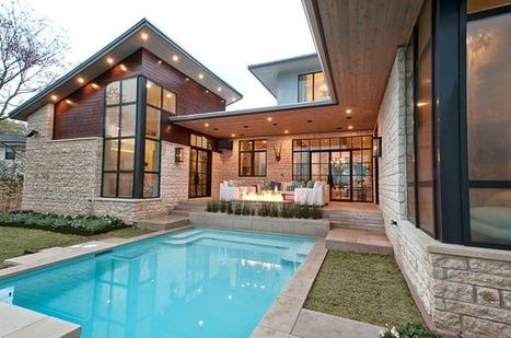 Exemples de maisons RT2012 modernes individuelles | Actualités Immobilier | Scoop.it