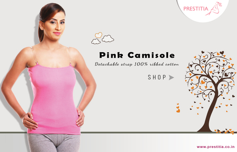 pink camisole | buy nightwear online india | Scoop.it
