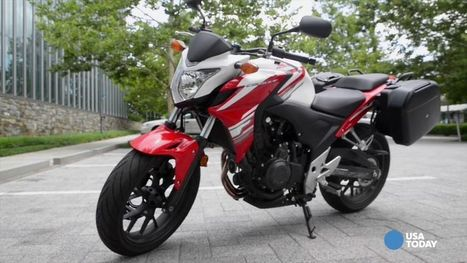 Motorcycle review: F is for fun in Honda's CB500F - USA TODAY | Monarch Honda Power Sports | Scoop.it