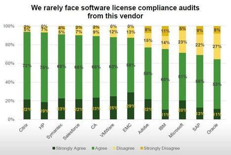 Prix, licensing, audits : Oracle l'éditeur le moins aimé des DSI | La veille en ligne d'Open-DSI | Scoop.it