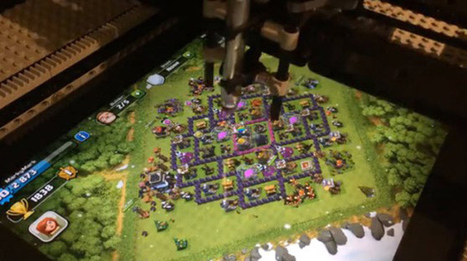 Lego robot programmed to play Clash of Clans, finds it as addicting as you do | Clash of Clans : News & Views | Scoop.it
