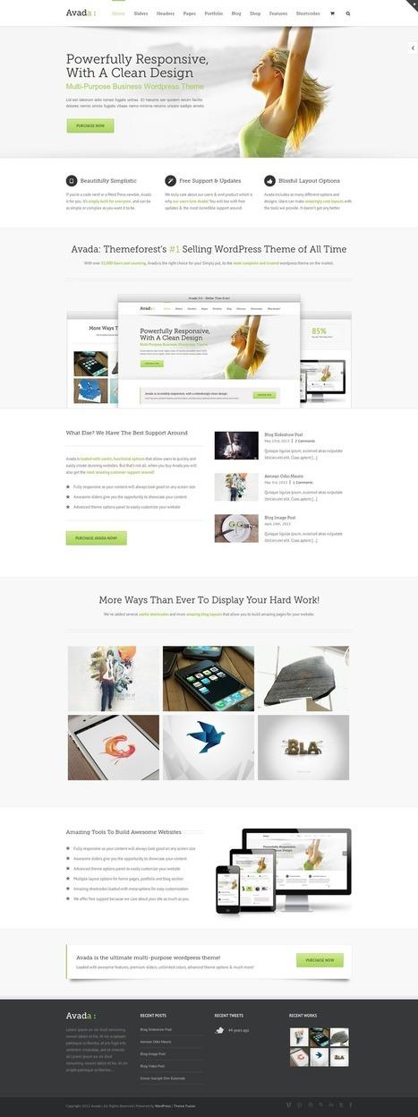 Best Ajax Ready Personal Blog Wordpress Themes 2014 (responsive) | Stuff I Just Read | Scoop.it