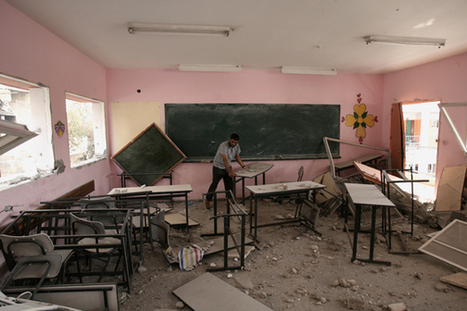 UNICEF: Back to school for children in #Gaza | Education Zone | Scoop.it