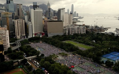 Big Hong Kong Democracy Rally Fueled By Fury At Beijing | Sustain Our Earth | Scoop.it