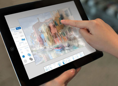 Adobe PaintCan pour iPad : transformez vos photos en toile de maître - iPhonologie.fr | Les outils du numérique au service de la pédagogie | Scoop.it