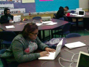 Students who missed class after Sandy now have online option | GothamSchools | Mobile Blending | Scoop.it