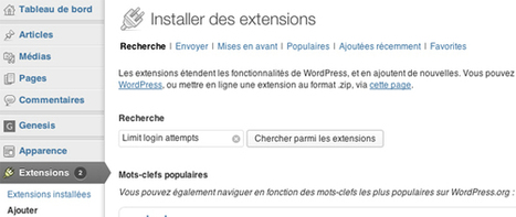 Sécuriser Wordpress plugin: Limit login attempts | créer son site avec wordpress | Scoop.it
