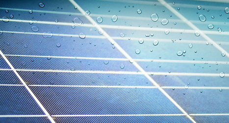 New Solar Cells Generate Power From Raindrops | Amazing Science | Scoop.it