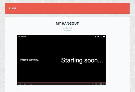 How to Embed a Live Google+ Hangout on Your WordPress Website - ManageWP | bod-Wordpress | Scoop.it