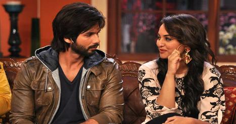 देर रात क्या कर रहे थे शाहिद और सोनाक्षी?   Bollywood News in Hindi   Scoop.it