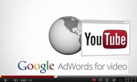 AdWords Youtube: Comprendre les formats des annonces vidéo | Web & e-tourisme | Scoop.it