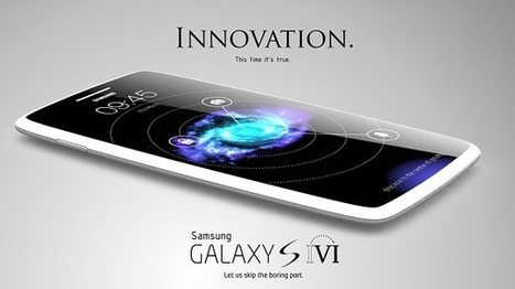 Samsung Galaxy S6 New Concept, 6 inch display, 6GB of RAM - Samsung Galaxy S5   iPhone 6   Scoop.it