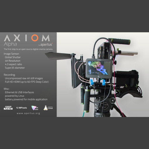 First-Ever Video Output Working on Open-Source Axiom Alpha Prototype