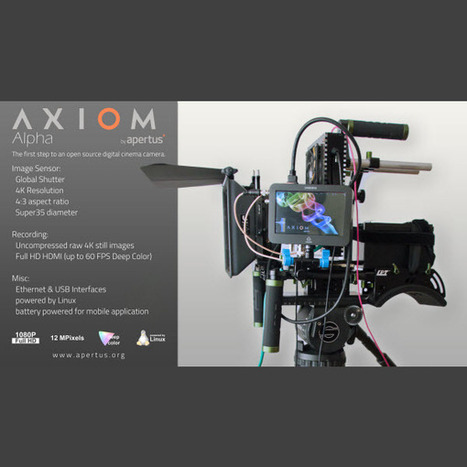 First-Ever Video Output Working on Open-Source Axiom Alpha Prototype | HDSLR | Scoop.it