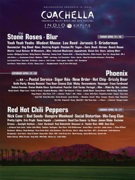 Coachella 2013 lineup revealed | Consequence of Sound | MUSIC CONTENTS | Scoop.it