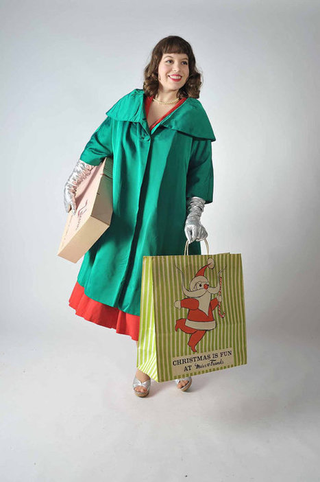 Vintage 1950s Dress Coat // Christmas Holidays at Fab by FabGabs | Vintage! | Scoop.it