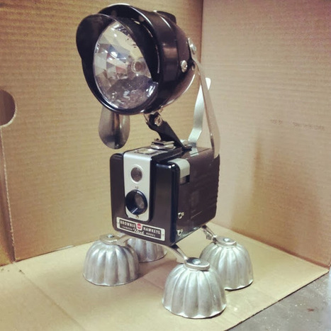 10 ways to upcycle vintage cameras ~ Photography News | Upcycle Décor | Scoop.it